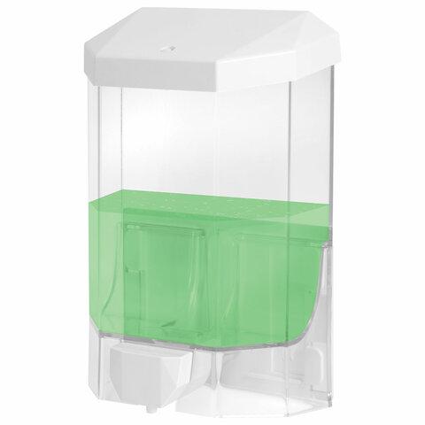 Диспенсер для жидкого мыла ЛАЙМА PROFESSIONAL ORIGINAL, НАЛИВНОЙ, 1 л, прозрачный, пластик, 605773 — купить в интернет-магазине ОНЛАЙН ТРЕЙД.РУ