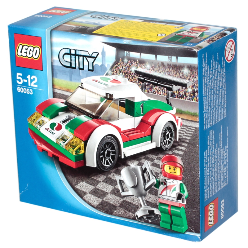 Конструктор LEGO City 60053 LEGO Гоночный автомобиль- купить по ...