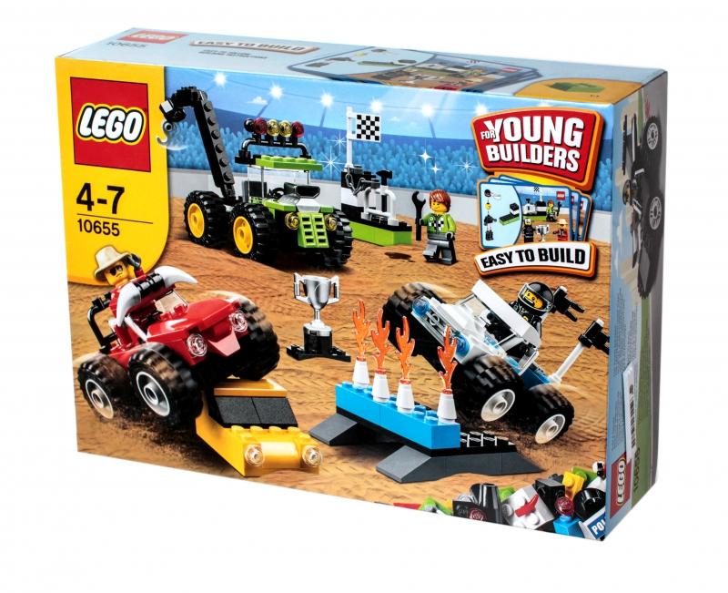 Конструктор lego creator 10655 лего грузовики