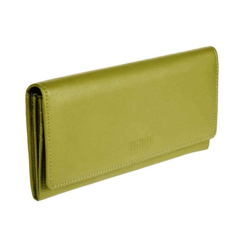 86b3b4982495 Кошелек женский Mano 20100 SETRU lime, салатовый Изображение 1 - купить в  интернет магазине с