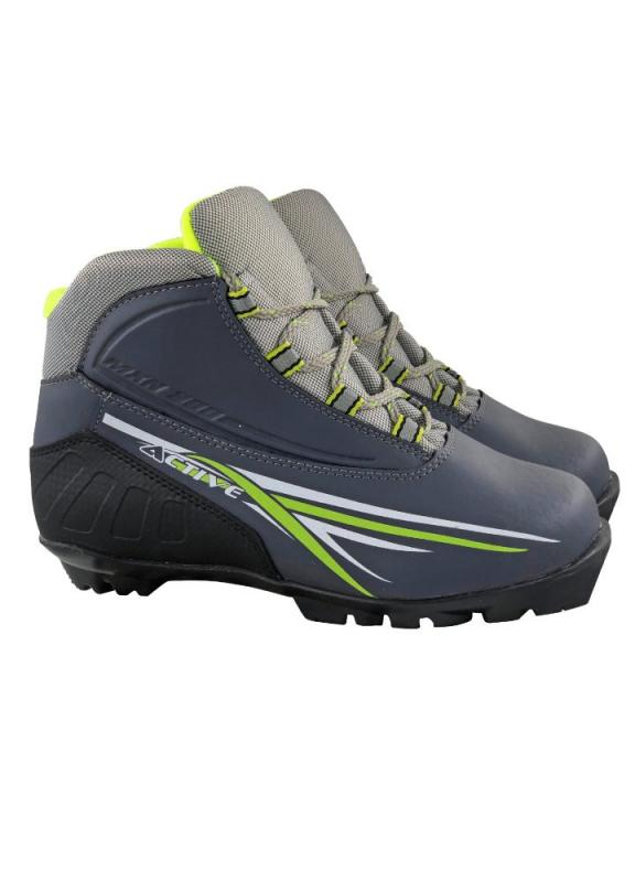 Ботинки лыжные МАРАКС NNN МXN300 ACTIVE серый р.36 MXN300 Active -16 - купить по выгодной цене в интернет-магазине ОНЛАЙН ТРЕЙД.РУ Новосибирск