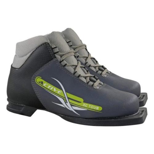 Ботинки лыжные МАРАКС NNN МXN300 ACTIVE серый р.46 — купить в интернет-магазине ОНЛАЙН ТРЕЙД.РУ