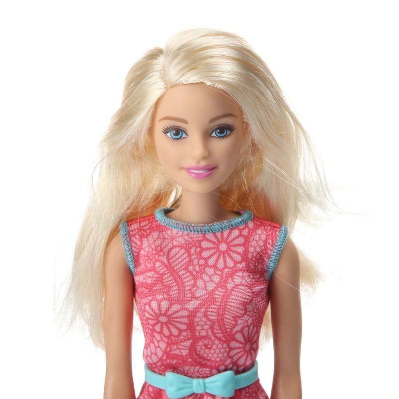 Барби с розовым платьем купить