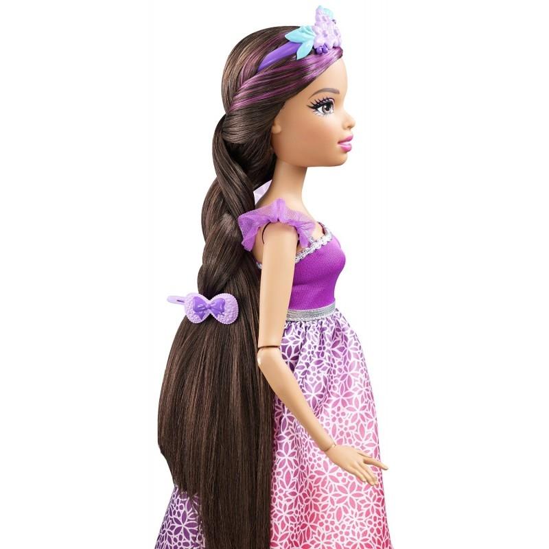 купить куклу с длинными натуральными волосами денди это