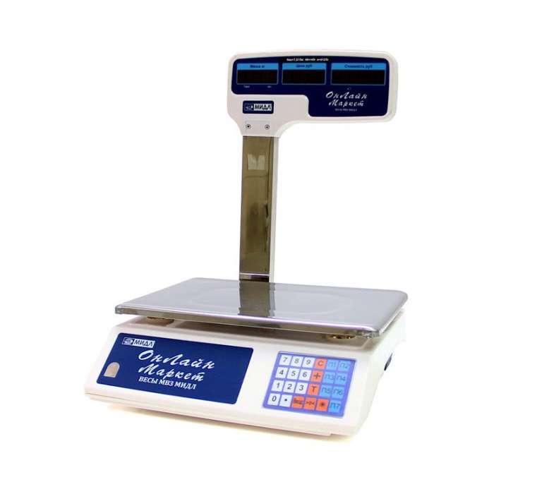 Весы торговые МИДЛ МТ 30 МГДА(5/10,230х330) RS/USB(у) Онлайн Маркет FT24824 - низкая цена, доставка или самовывоз по Нижнему Новгороду. Весы торговые МИДЛ МТ 30 МГДА(5/10,230х330) RS/USB(у) Онлайн Маркет купить в интернет магазине ОНЛАЙН ТРЕЙД.РУ