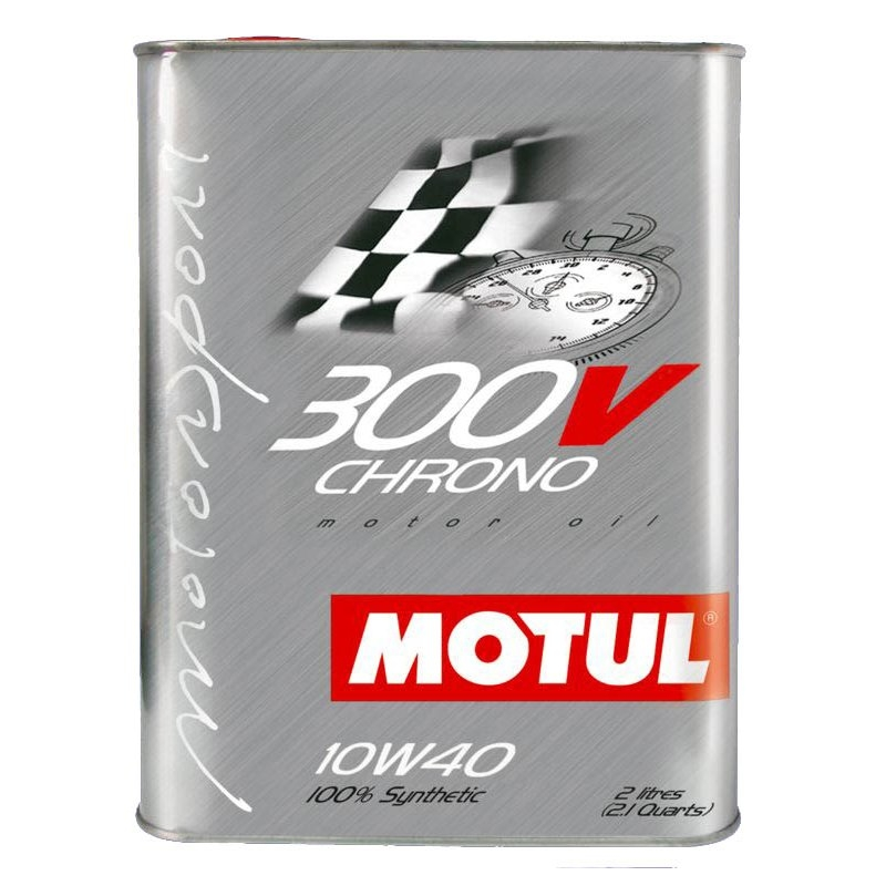 Моторное масло Motul 300 V Chrono 10W40 2л - фото 3