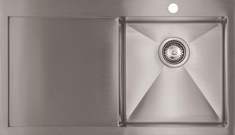Кухонная мойка Seaman Eco Marino SMV-860L, вентиль-автомат SMV-860L.B - купить по выгодной цене в интернет-магазине ОНЛАЙН ТРЕЙД.РУ Санкт-Петербург