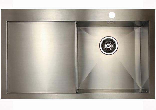 Кухонная мойка Seaman Eco Marino SMV-Z-860L, вентиль-автомат SMV-Z-860L.B - купить по выгодной цене в интернет-магазине ОНЛАЙН ТРЕЙД.РУ Санкт-Петербург