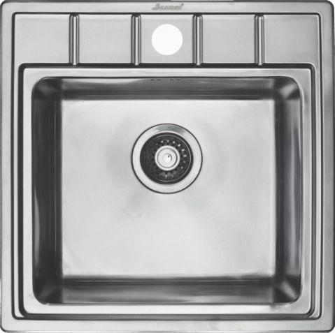 Кухонная мойка Seaman Eco Roma SMR-5050A - купить в интернет-магазине ОНЛАЙН ТРЕЙД.РУ