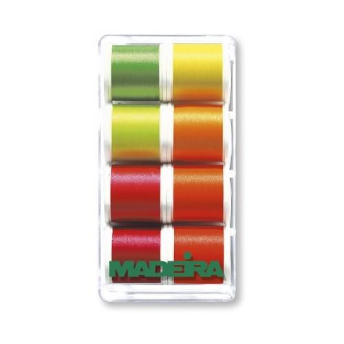 Набор ниток MADEIRA Polyneon Neon 8 x 200 м — купить в интернет-магазине ОНЛАЙН ТРЕЙД.РУ