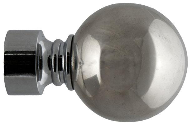 Наконечник для карнизов DDA Шар, диаметр 28, хром глянец, 2шт — купить в интернет-магазине ОНЛАЙН ТРЕЙД.РУ