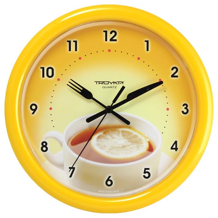 пластмассовые часы с картинками времени