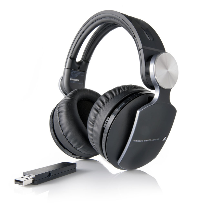 наушники с микрофоном Sony Playstation Pulse Premium Black