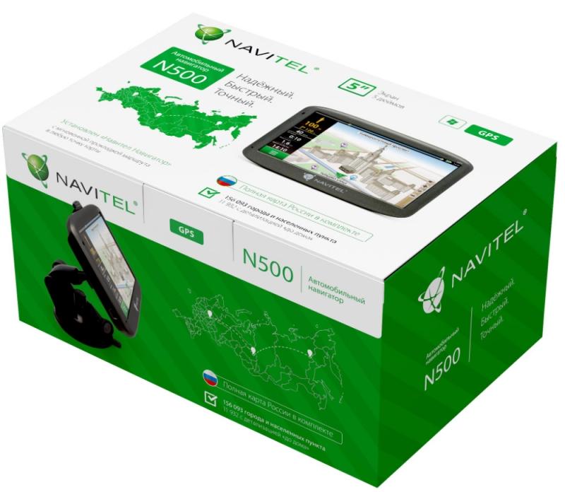 Навигатор NAVITEL N500 - Изображение 3