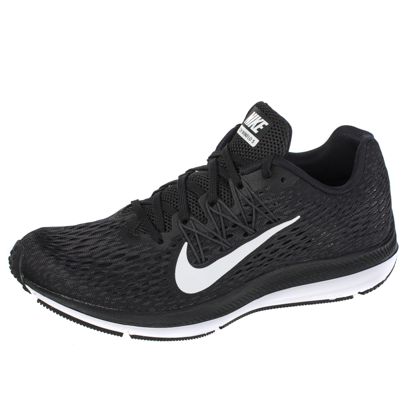 5cef8f27 Кроссовки Nike AA7414-001 Air Zoom Winflo 5 женские, цвет черный, размер 9