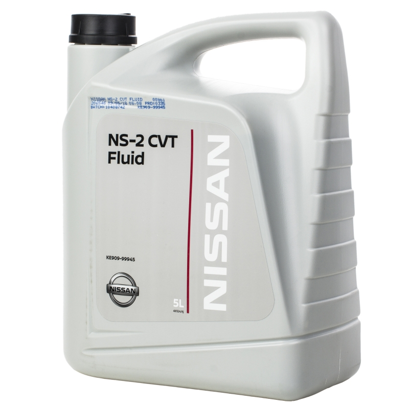 Трансмиссионное масло NISSAN CVT Fluid NS-2 зелёный 5 л