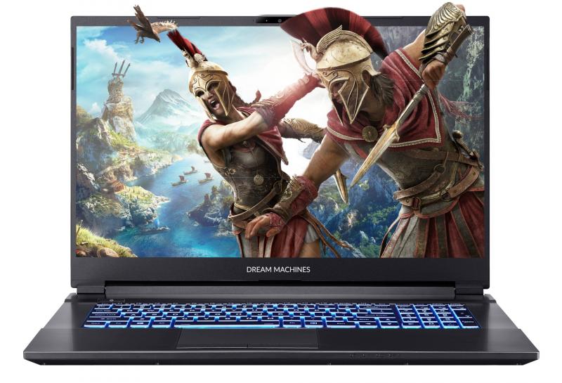 Игровой ноутбук Dream Machines G1660Ti-17RU58 (G1660Ti-17RU58)- купить по выгодной цене в интернет-магазине ОНЛАЙН ТРЕЙД.РУ Тольятти