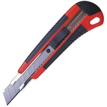 Нож канцелярский 18 мм BRAUBERG Universal, 3 в комплекте, автофиксатор, резиновые вставки, 230919 230919СН - купить по выгодной цене в интернет-магазине ОНЛАЙН ТРЕЙД.РУ Тула