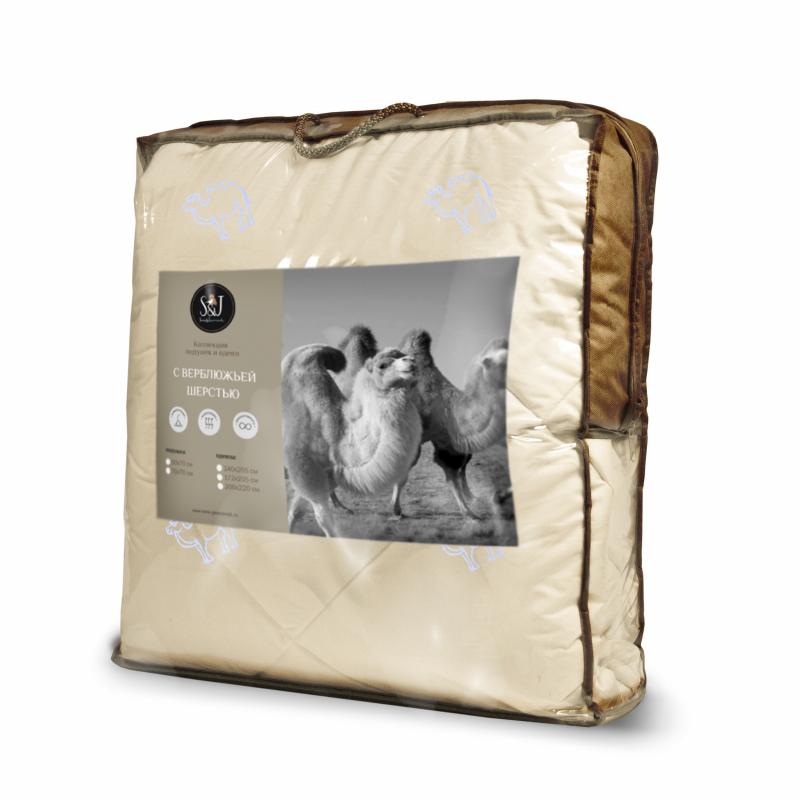 Одеяло S&J 140*205 S&J, верблюжья шерсть — купить в интернет-магазине ОНЛАЙН ТРЕЙД.РУ