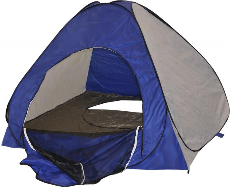 Палатка зимняя автомат 2х2 сине-белая (дно на молнии) Изображение 1 - купить 0de42396d5e55