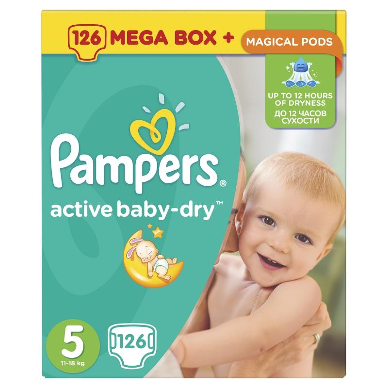 0b11e73abf1f Подгузники Pampers Active Baby-Dry (Памперс Эктив Бэйби) 5 Junior (11-