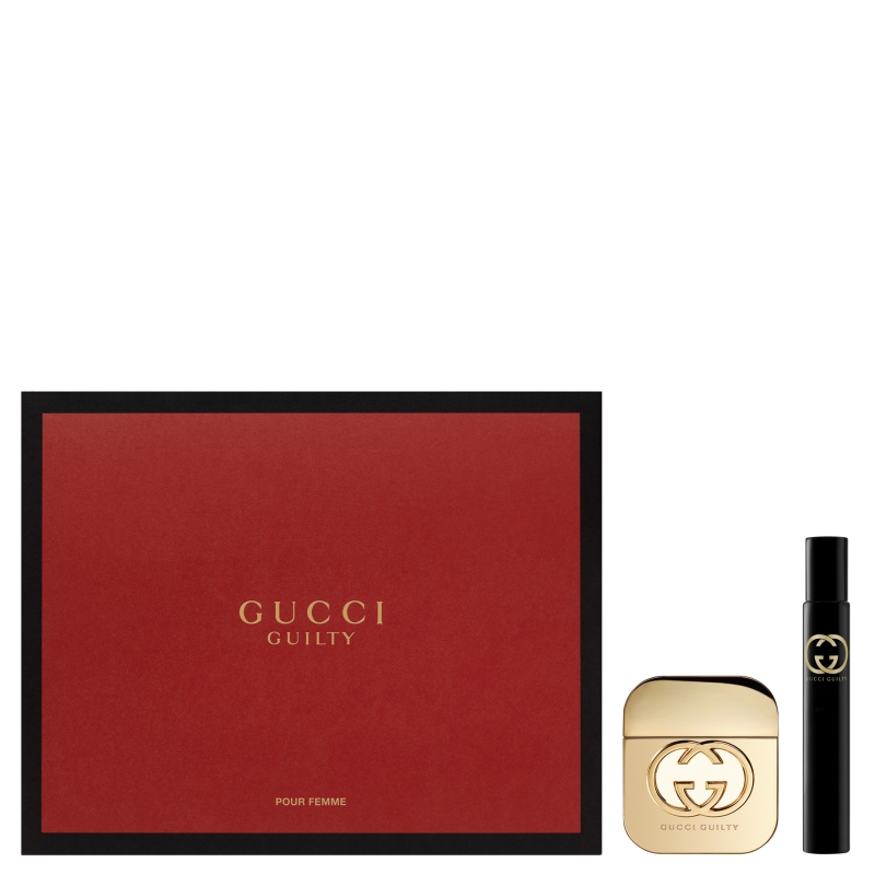 Подарочный набор для женщин Gucci (Туалетная вода 50 мл + миниатюра 7.4 мл) 011b66cd34c
