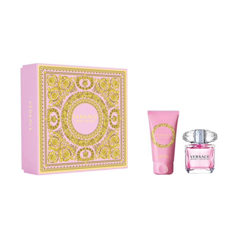 Подарочный набор VERSACE Bright Crystal (туалетная вода + лосьон для тела) — купить в интернет-магазине ОНЛАЙН ТРЕЙД.РУ