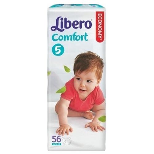 56265a70899c Подгузники Libero Comfort (Либеро Комфорт) 5 Maxi Plus (10-16 кг), 56 шт.  Код товара  239155. - купить в интернет магазине с доставкой, цены,  описание, ...