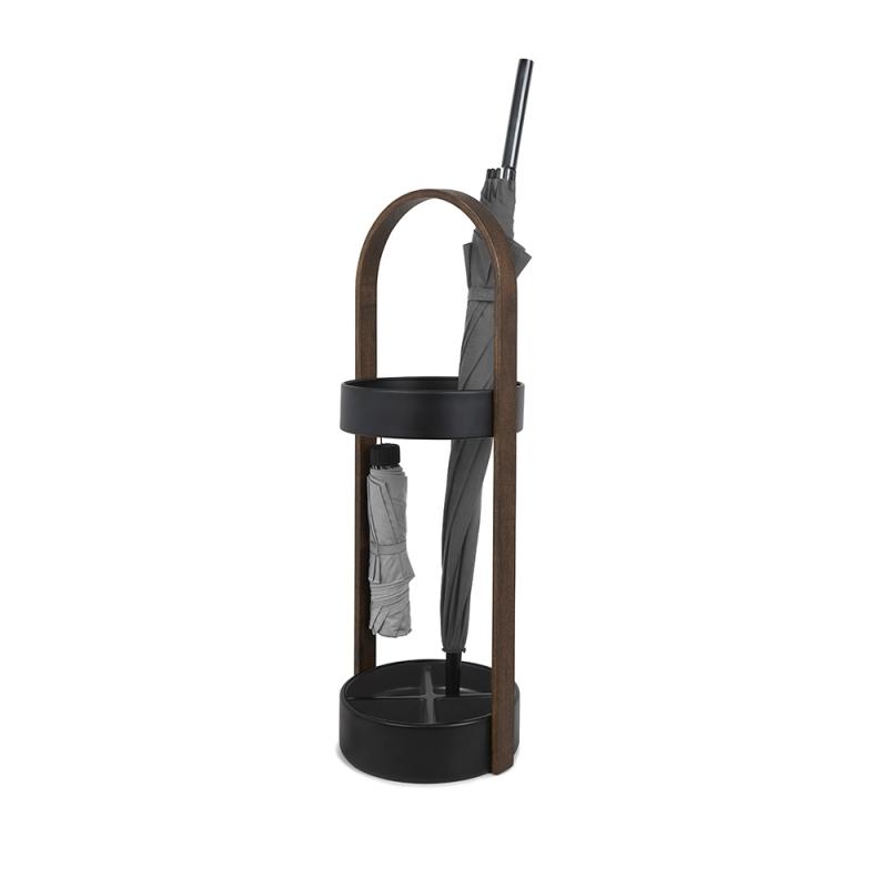 Подставка для зонтов Umbra HUB чёрный-орех — купить в интернет-магазине ОНЛАЙН ТРЕЙД.РУ