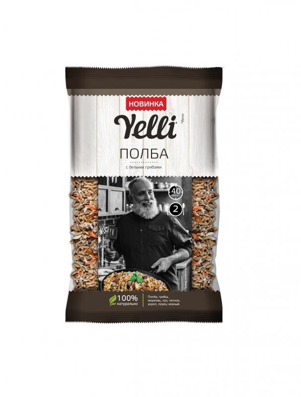 Полба Yelli с белыми грибами, 110 гр. — купить в интернет-магазине ОНЛАЙН ТРЕЙД.РУ