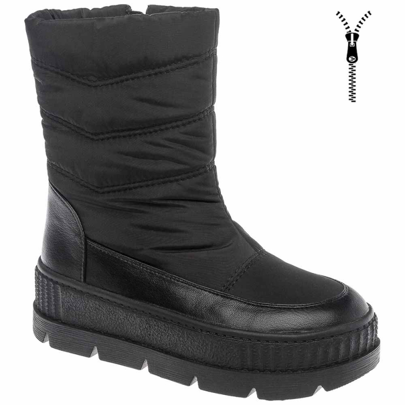 Полусапоги BETSY 998344/04-01 для девочки, цвет черный, размер 34 — купить в интернет-магазине ОНЛАЙН ТРЕЙД.РУ