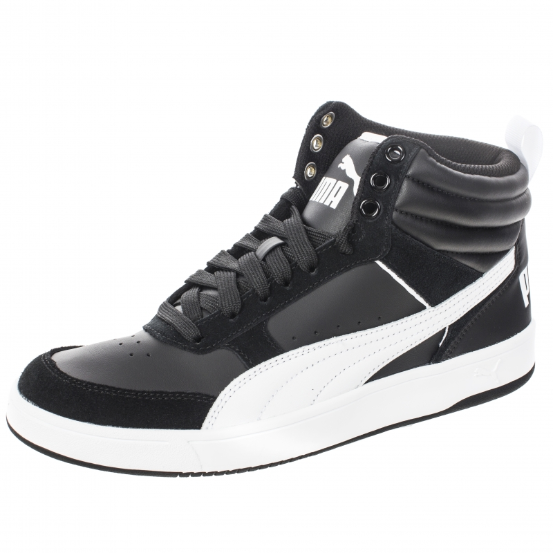 Кеды PUMA 36371502 Rebound Street v2 мужские, цвет черный, размер 41  Изображение 1 - fd107c042fb