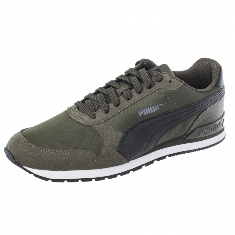 Кроссовки PUMA 36527809 ST Runner v2 NL мужские, цвет зеленый, размер 44  Изображение 1 56d849c0e97