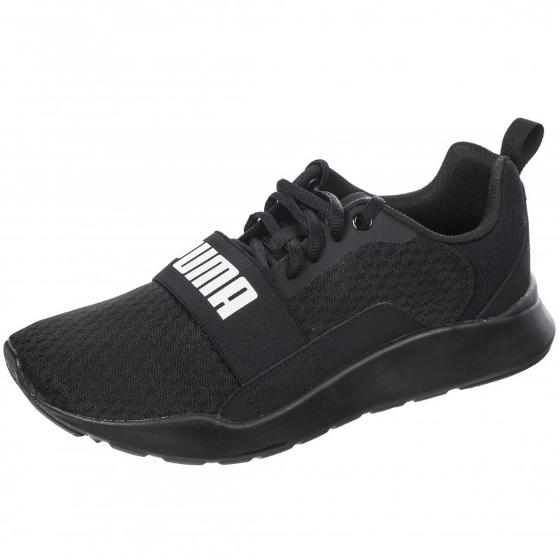 f4d68d6c48f1 Кроссовки PUMA 36697001 Wired мужские, цвет черный, размер 41 Изображение 1  - купить в