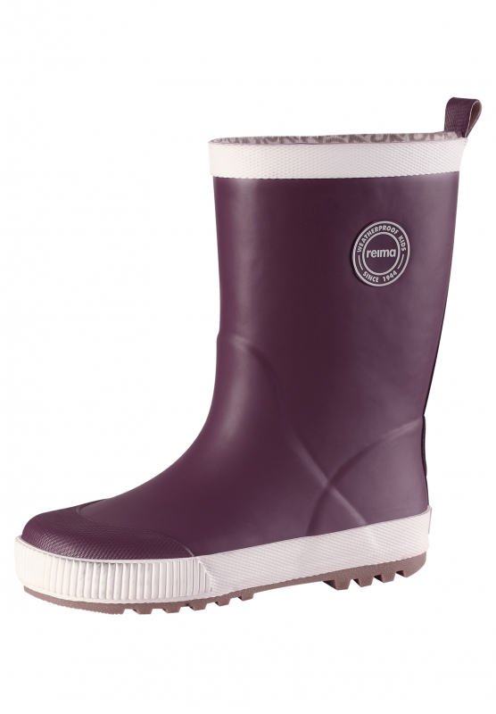 4aac233b8 Резиновые сапоги REIMA 569331-4960-023 для девочки, цвет фиолетовый, размер  23