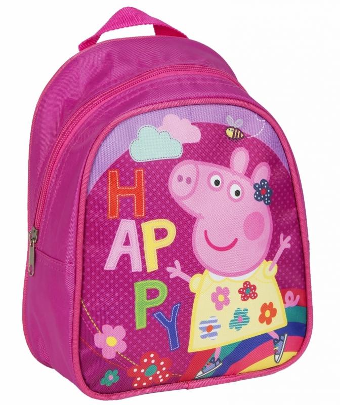 b59011d82dd1 Рюкзачок РОСМЭН дошкольный, малый Свинка Пеппа. Код товара: 828951. -  купить в интернет магазине с доставкой, цены, описание, характеристики,  отзывы