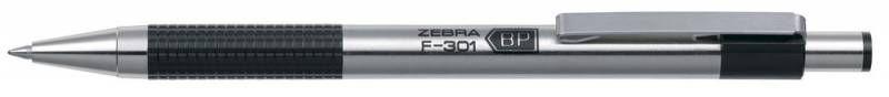 Ручка шариковая Zebra F-301 (F-301 BK) авт. 0.7мм корпус метал. черные чернила — купить в интернет-магазине ОНЛАЙН ТРЕЙД.РУ