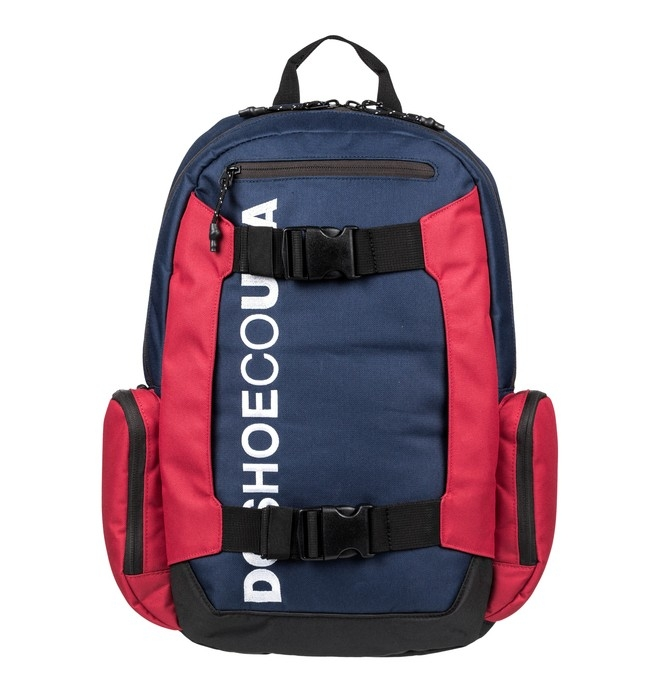 5a22003e68fe Рюкзак DC SHOES EDYBP03189-BTL0 CHALKERS мужской, цвет синий/красный  Изображение 1 -