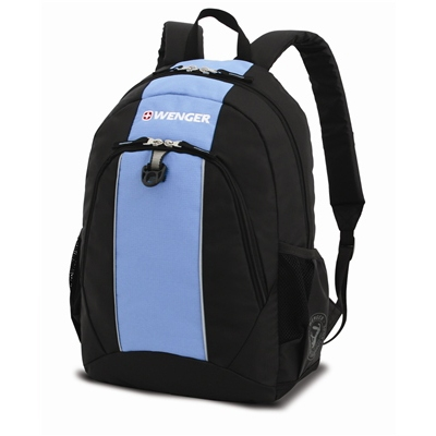 6ebee8732b51 Рюкзак WENGER 17222315 черный/голубой - купить в интернет магазине с  доставкой, цены,