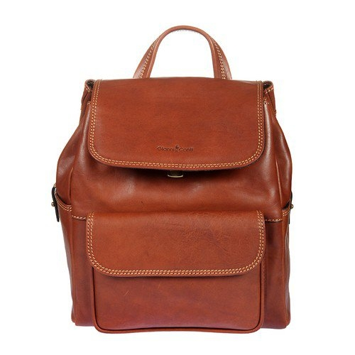 b0eeee892450 Рюкзак женский GIANNI CONTI 913159 tan, рыжий Изображение 1 - купить в  интернет магазине с