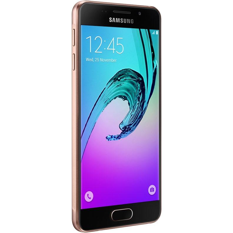 52ed99913335 Смартфон Samsung Galaxy A3 SM-A310F (розовое золото) Изображение 1 - купить  в
