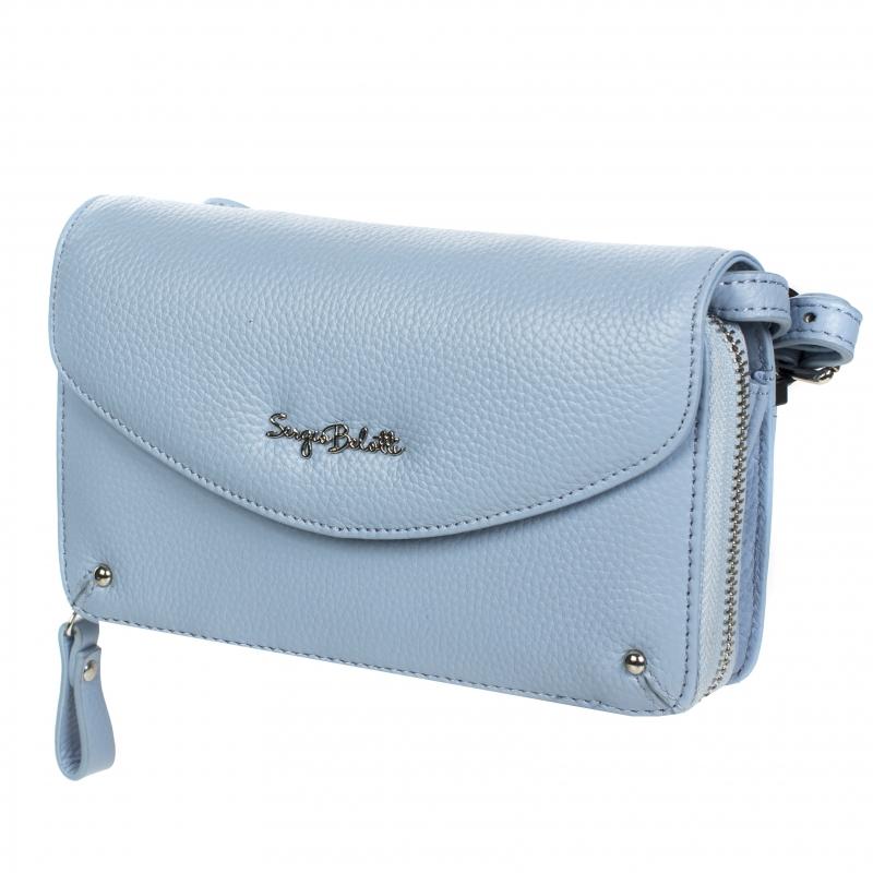 b2ea7af65d0c Сумка женская SERGIO BELOTTI 90 light blue, голубой Изображение 1 - купить  в интернет магазине