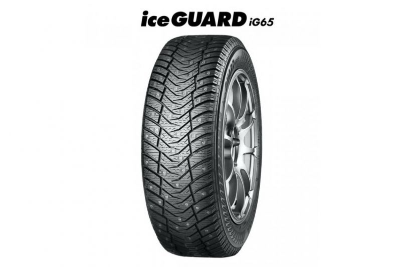 Шина Yokohama Ice Guard Stud IG65 215/50 R17 95T, зимняя, шип — купить в интернет-магазине ОНЛАЙН ТРЕЙД.РУ