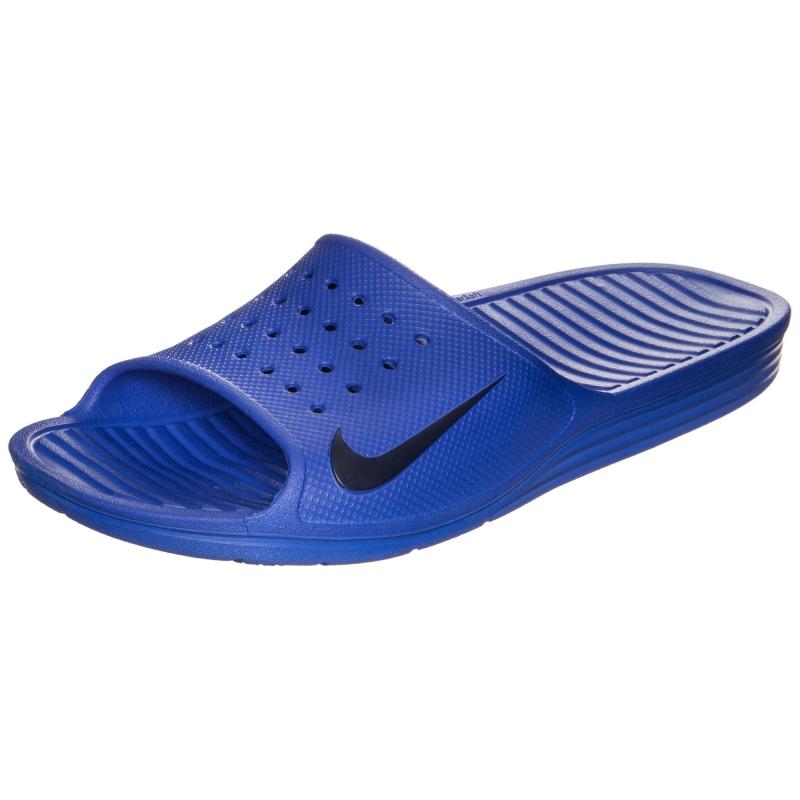 8dedec56 Шлепанцы Nike SOLARSOFT SLIDE 386163-440 мужские, цвет синий, рус ...