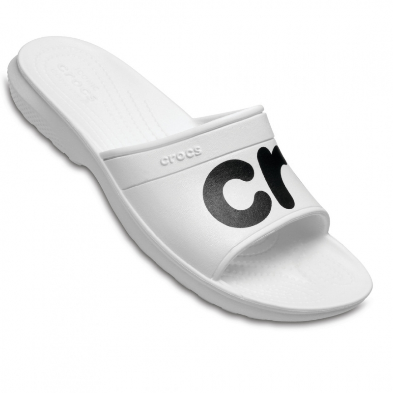 Шлёпанцы CROCS 204465-103-M4W6 женские, цвет белый, размер 36-37 ... 846a55c7950