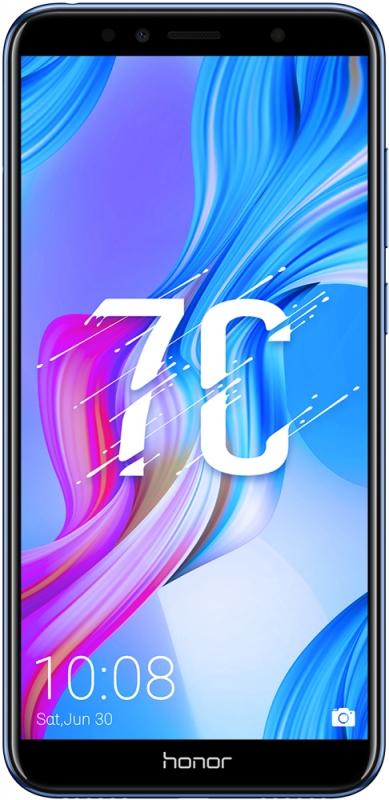 7acab009578 Смартфон Honor 7C 32Gb Blue Изображение 1 - купить в интернет магазине с  доставкой