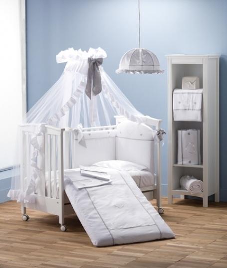 Set posteljnega perila Erbesi Cuore (Erbesi Cuore), barva bela - Slika 1