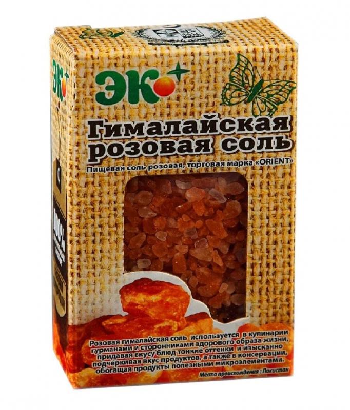 Соль Эко Плюс Розовая гималайская, пищевая, помол крупный, 360 г — купить в интернет-магазине ОНЛАЙН ТРЕЙД.РУ