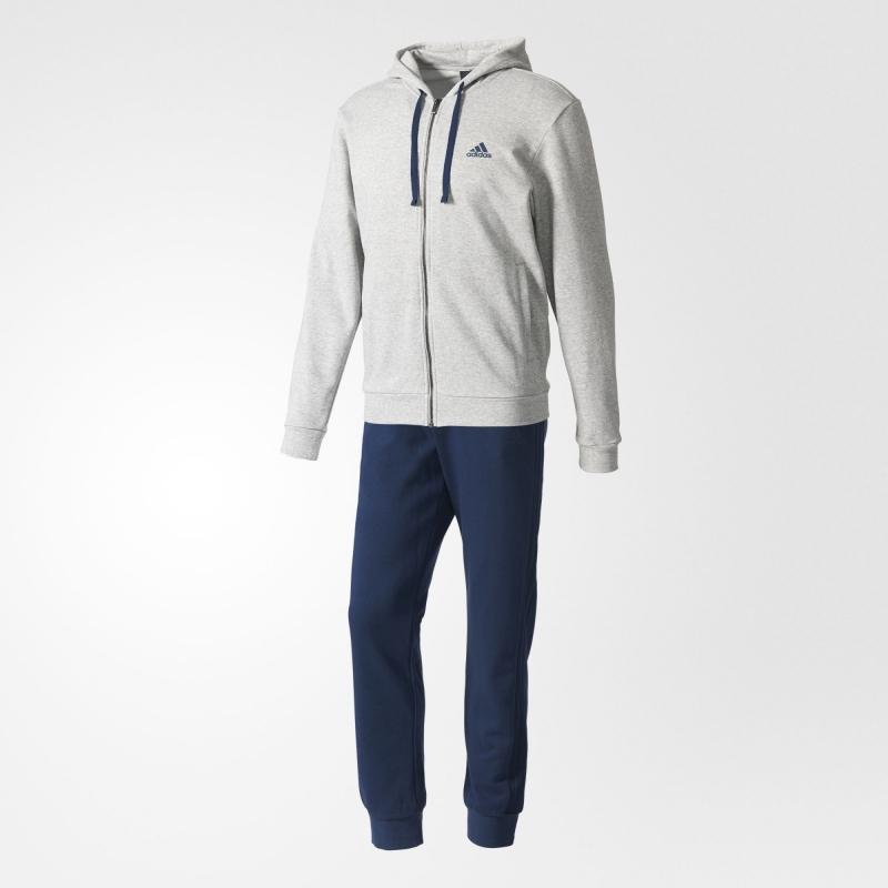 c8e21e4b Спортивный костюм ADIDAS Co Energize Ts BK2669 мужской, цвет серый-синий,  рус.