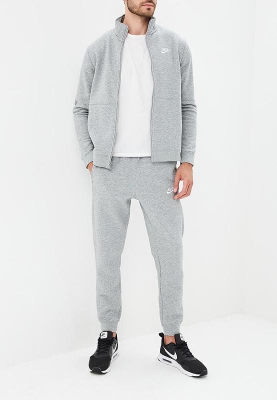 dba8a467 Спортивный костюм Nike 928125-063 SUIT FLC мужской, цвет серый, размер S